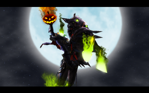 The Headless Horseman by Young-M