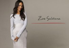 Zoe Saldana by ArtSlash13