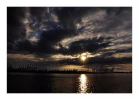 Dockland Sunset by Real-Nela