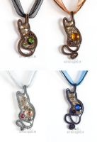 Steampunk kittens enhanced version Jul 2014 by ukapala