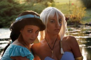 Kida and Jasmine 2010 by MaddMorgana