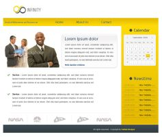 Business Yellow by ZodiakDesigns