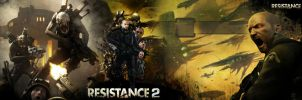 Resistance 2 Wallpaper Dual by Toxigyn