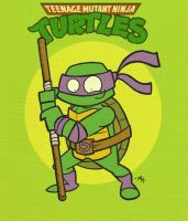 Donatello does Machines by tyrannus