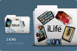 iWork and iLife Folders by Jvstin