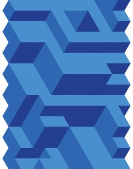 Blue Tessellation by Humble-Novice