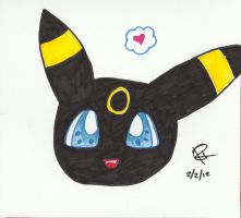 Kawaii Umbreon by Colorful-Kaiya