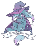 Please worship me by swampyfish