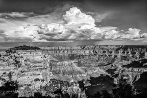 Storm Over the Canyon by EvaMcDermott