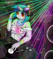 Dj all night long by NefyFeiri