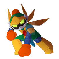 Bomberman Art Collab- Orion by Clown-Grin