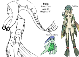 Paka's Ref Sheet by RenaInnocenti