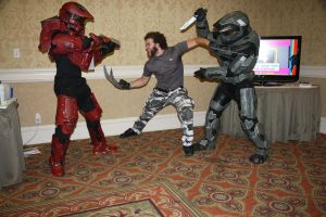 AFO 2012: Wolverine vs SPARTANs by pgw-Chaos