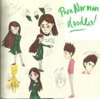 ParaNorman doodles by jesserine0598