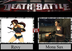 Revy vs. Mona Sax by JasonPictures