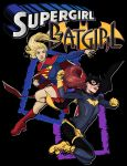 Batgirl and Supergirl by crost92