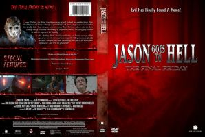 Jason Goes to Hell Custom DVD Cover by SUPERMAN3D