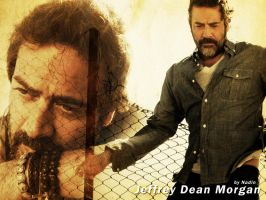 Jeffrey Dean Morgan by Nadin7Angel