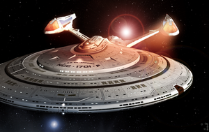 USS Enterprise : NCC-1701-F by GuardfeldDB