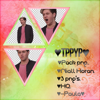 Pack png #2 - Niall Horan. by SoulInHell