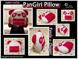 PanGiri Pillow.. by SongAhIn