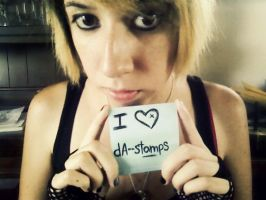 Fansign: dA--stamps by my-bloody-death