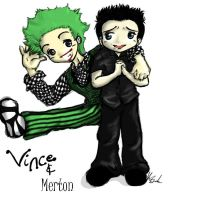 Merton and Vince by Devain