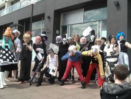 EPIC SOUL EATER GROUP. by MySpazzyValentine