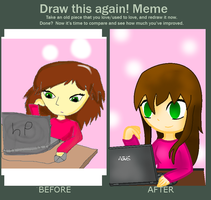 Draw this again meme by SongMina