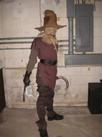 Scarecrow cosplay 2 by GothamScarecrow