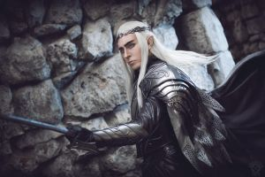 Thranduil five armies by TheIdeaFix