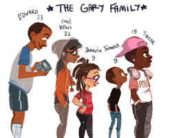 The Gary Family by hyperstaticUNION