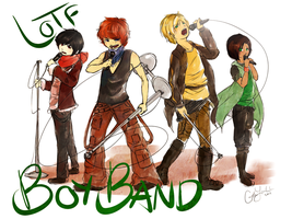 LotF: K-pop Band by murderaddict