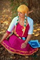 Skyward Sword Zelda by Keekal