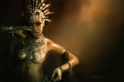 Akasha /Queen Of Damned by ravenwoods