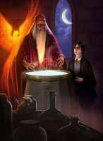 Albus and Harry by maril1