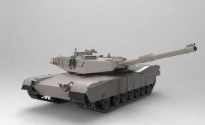M1A1 MAIN BATTLE TANK by icryonic