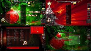 Merry Christmas Everyone Desktop Theme for Win 7 by ionstorm01