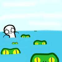 The 12 Plaugues of Egypt-Frogs by Shademan2013
