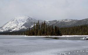 Frozen Lake  by TRunna