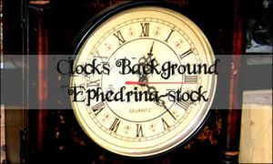 Clocks background brushes by ephedrina-stock