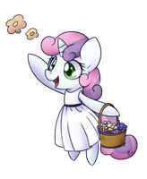 Flower Filly - Sweetie Belle by Bukoya-Star