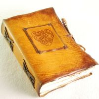 Yellow heart by gildbookbinders