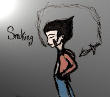 Smoking by Number-14