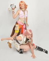 FFXIII Cosplay by Fuwafuwa-paperclay