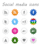 Mine Social Media Icons by Ch-Anjum