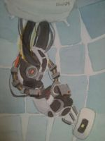 GLaDOS that giant.. by AkiraBlueWolf