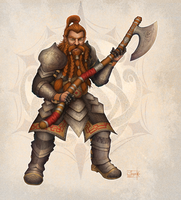 Dwarf by Anant-art