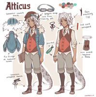 Atticus Reference by whispwill