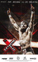 WWE Extreme Rules 2014 Custom Promotional Poster by HTN4ever